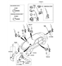 Related Parts for Kia Ignition Switch - 819102G010