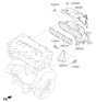 Related Parts for Kia Soul Exhaust Manifold - 285102EHK0