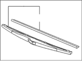 Kia Spectra5 SX Windshield Wiper - 988502F000