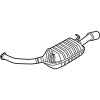 Kia Amanti Exhaust Pipe - 287003F825