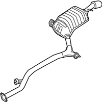 Kia Amanti Exhaust Pipe - 287003F820