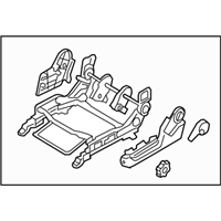 Kia 885001G100XI ADJUSTER ASSEMBLY-FRONT SEAT
