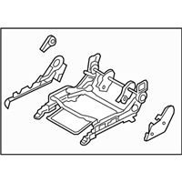 Kia 886001G050XI ADJUSTER ASSEMBLY-FRONT SEAT