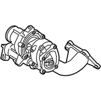 Kia Stinger Turbocharger - 282313L100