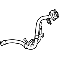 Kia Optima Hybrid Fuel Filler Neck - 31040D5500