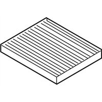 Kia Rio Cabin Air Filter - 97133F2000