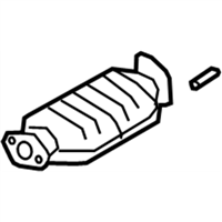 Kia Rondo Catalytic Converter - 2895025560