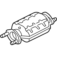 Kia Sephia Catalytic Converter - 0K2BW20600