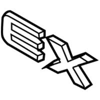 All Sales 96175P Grille Emblem ALS:96175P