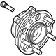 Kia HUB ASSEMBLY-FRONT WHEEL