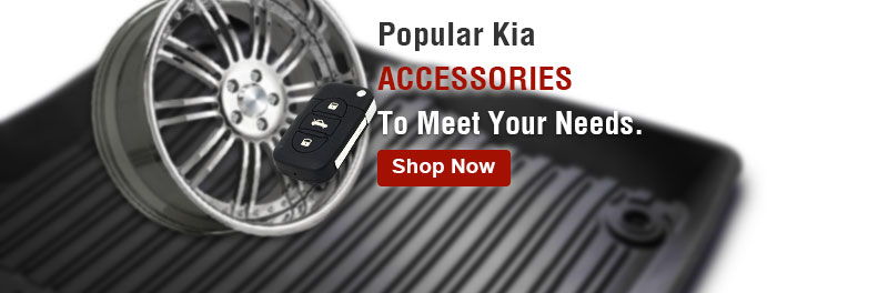 Popular Kia accessories to meet your needs